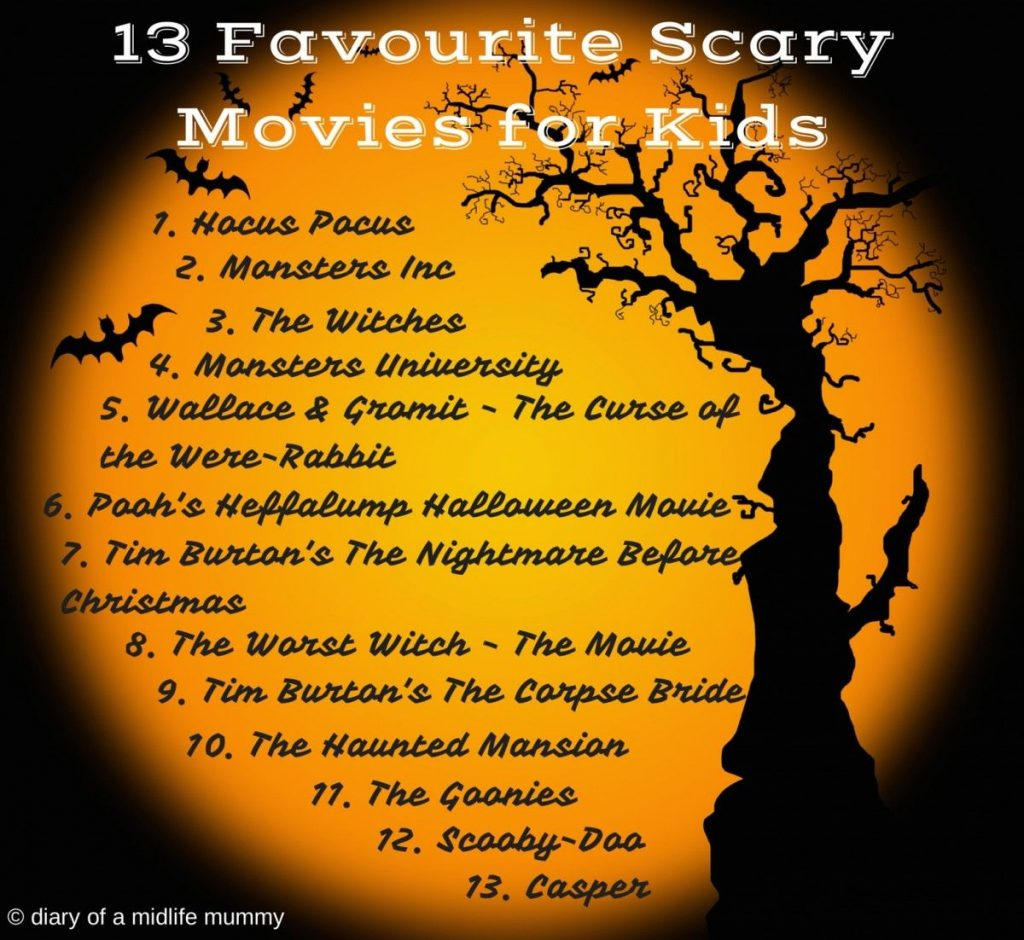 My favourite scary moves for kids