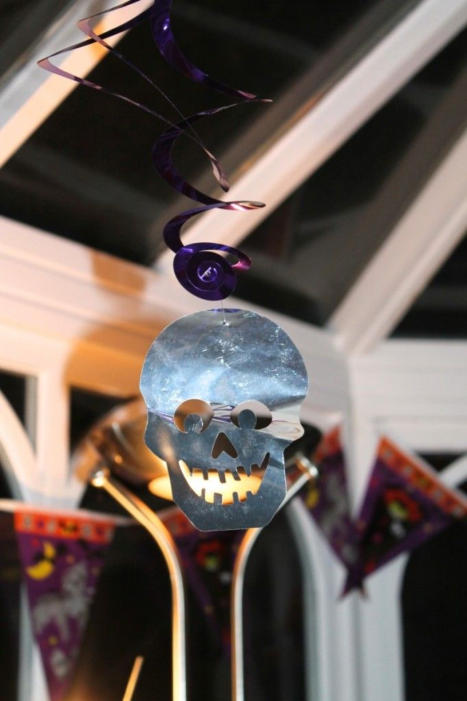 Hanging Skull Decoration