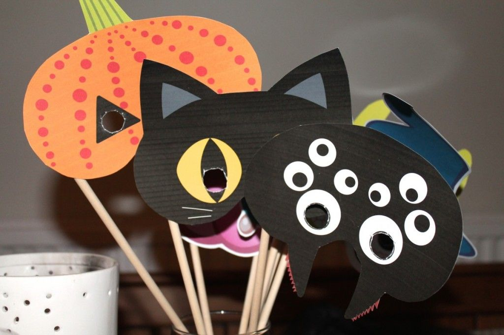Halloween Play Masks