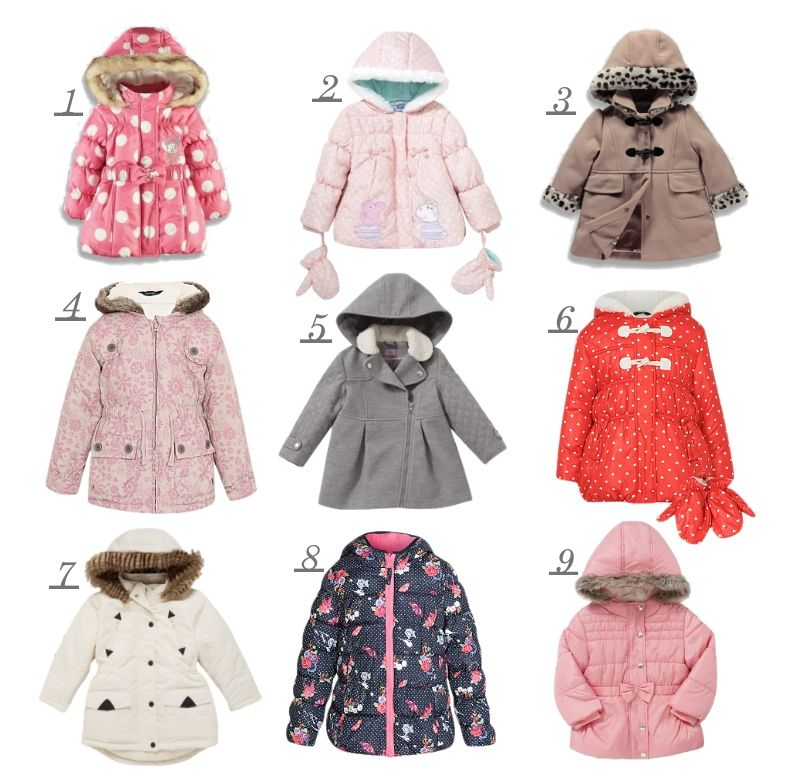 Winter Coats: 9 Stylish Supermarket Steals for Little Girls ...
