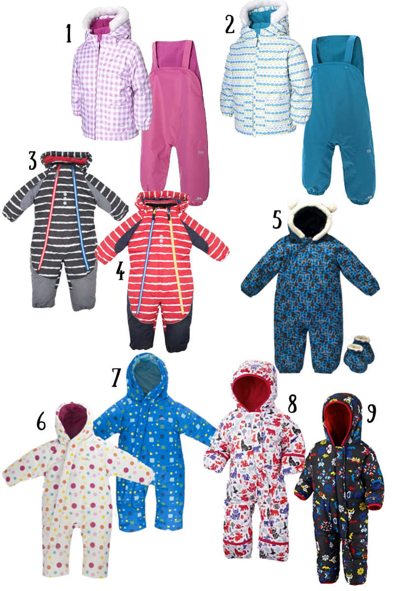 Ski Wear for Babies and Toddlers