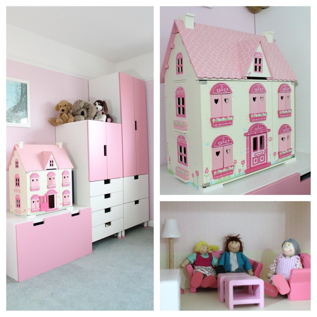 Girls Pink Bedroom