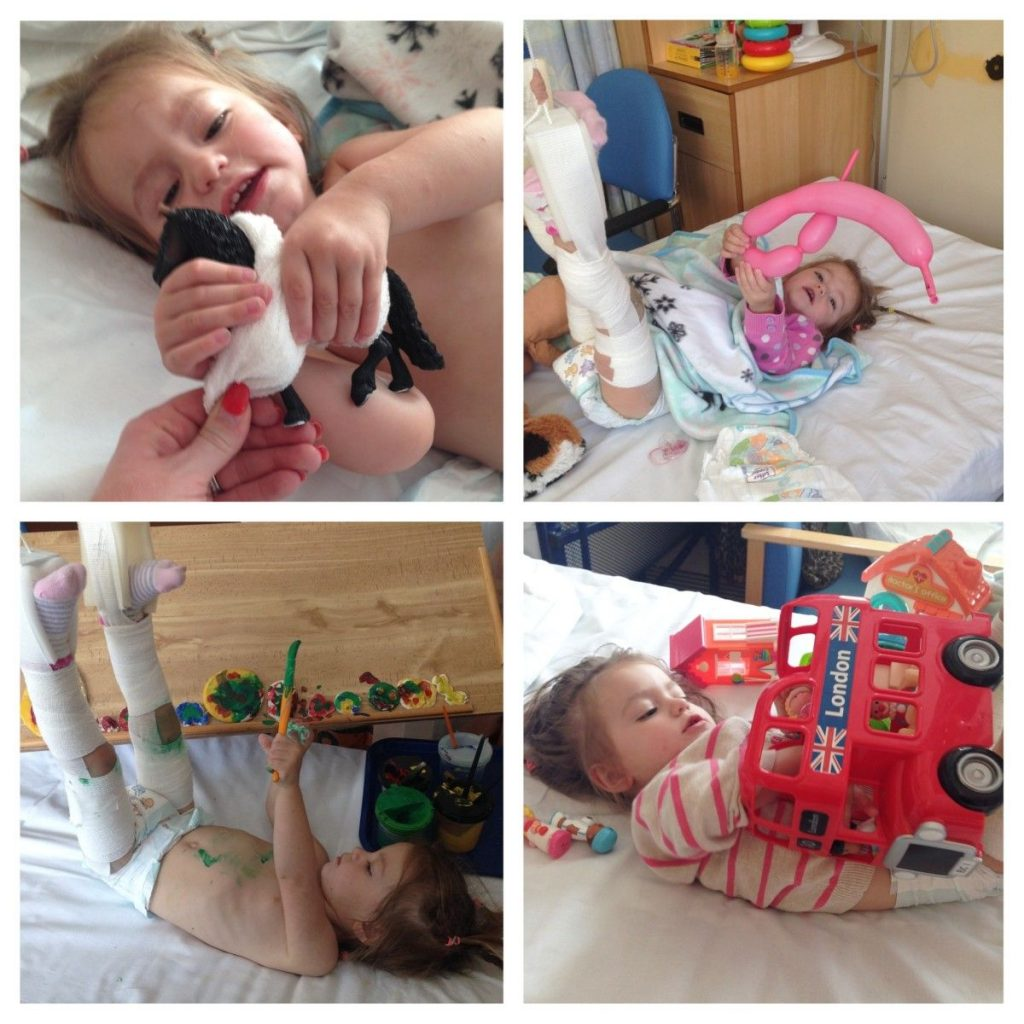 Ella's Stay in Hospital