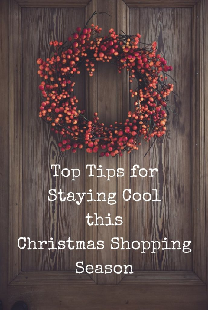 Tips for Staying Cool this Christmas Shopping Season