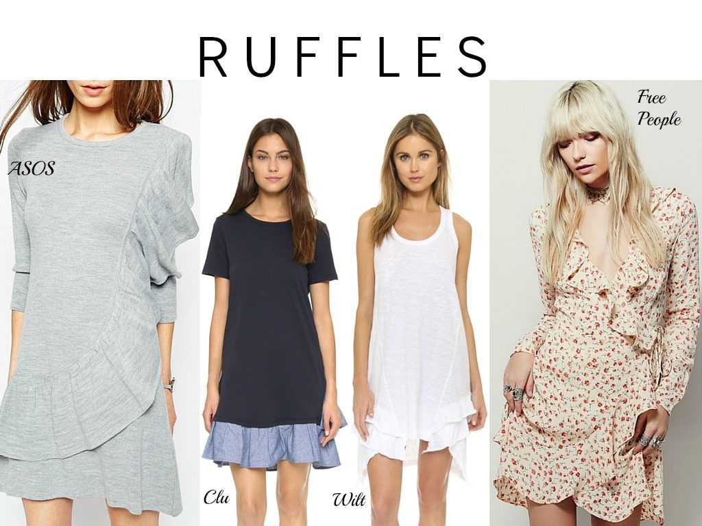 Lyst Ruffles -40