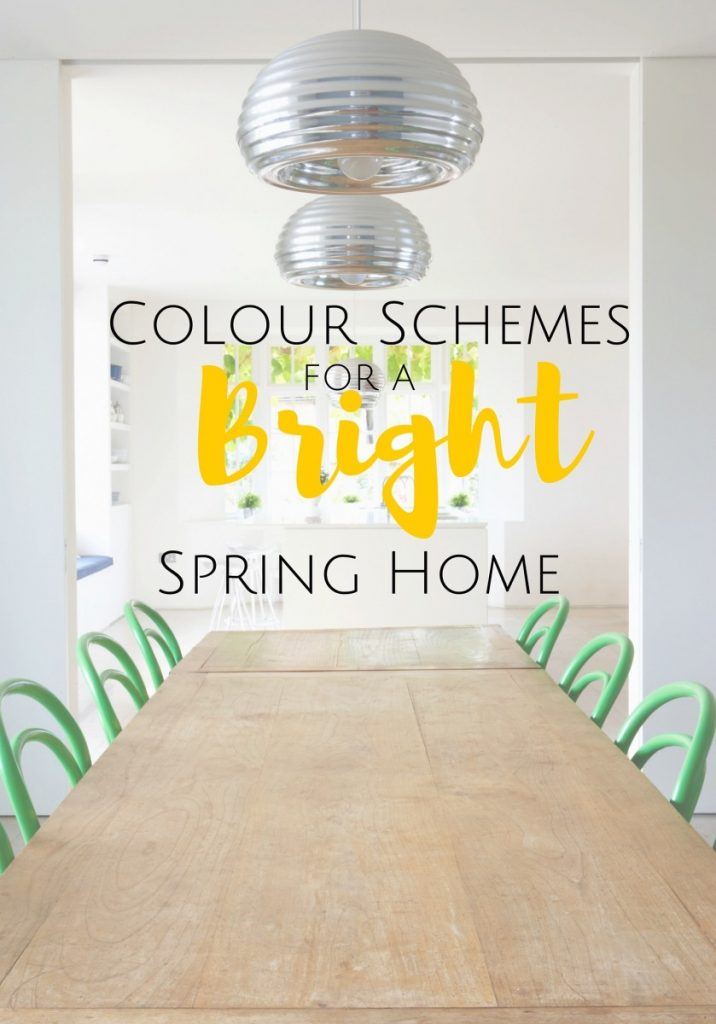 Colour Schemes for a Bright Spring Home