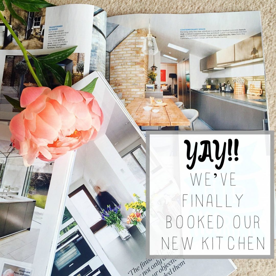 booked our kitchen